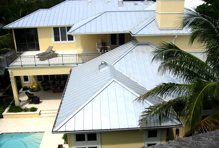 palm beach county ForKey West Style Metal Roof