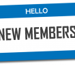 Hello New Members